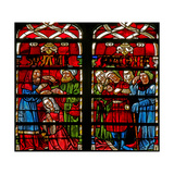 Window W236 Depicting the Daniel Story: Suzanne Is Led to Her Supplication Giclee Print