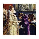 Maria De Medici, Queen of France, Became Rubens' Patron Giclee Print