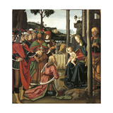 The Adoration of the Magi, 1476 Giclee Print