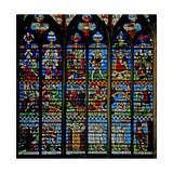 Window W235 Depicting St Helen Finds the Cross Giclee Print