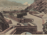 General View of Tanks and Cisterns, Aden Photographic Print