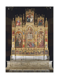 Assumption of the Virgin, Triptych, 1401 Giclee Print