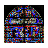 Window W3 Depicting the Cana Marriage Giclee Print