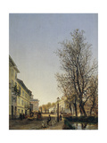 View of Milan from Outside Porta Orientale Giclee Print