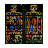 Window W134 Depicting a Scene from the Story of Joseph: the Pharaoh Dreams of the Years of Plenty Giclee Print