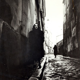 Portrait of Edith Piaf Photographic Print