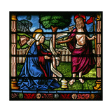 Window W6 Depicting a Resurrection Scene: Noli Me Tangere Giclee Print