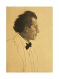 Austria, Vienna, Portrait of Composer Gustav Mahler Giclee Print