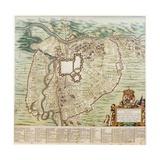 Map of Turin Giclee Print