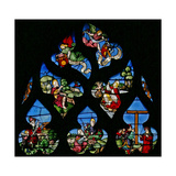 Window W8 Depicting St John the Baptist Giclee Print