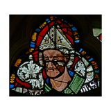 Window S-2 Depicting St Wulfstan Giclee Print