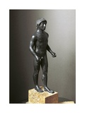 Greek Civilization, Bronze Statuette of Young Athlete Giclee Print
