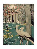 London Underground Poster Promoting Travel to Kew Gardens, London Memories - Giclee Baskı