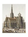 Austria, Vienna, Saint Stephen's Cathedral Giclee Print