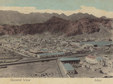 General View of Aden Photographic Print