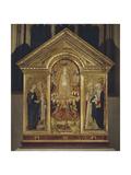 Assumption of the Virgin Between Saints Agata Giclee Print