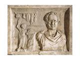 Roman Civilization, Sign for Tiberius Julius Vitale'S, Relief from Villa Albani, Rome Giclee Print