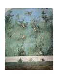 Fresco Depicting Garden with Fruit Trees and Birds, Detail, from Rome, Triclinium of House of Livia Giclee Print