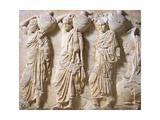 Greek Civilization, Pentelic Marble Frieze of Parthenon Giclee Print