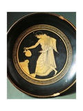 Greek Civilization, Red-Figure Pottery, Kylix Depicting Youth Near an Altar Giclee Print