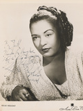 Billie Holiday, C.1950 Photographic Print