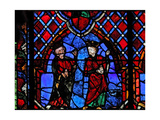 Window W01 Depicting the Adoration of the Magi Giclee Print