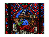 Window W01 Depicting the Nativity Giclee Print