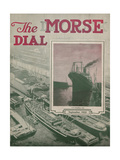 S.S. President Taft, Front Cover of the 'Morse Dry Dock Dial', September 1922 Giclee Print