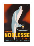 Poster Advertising 'Noblesse' Vermouth, C.1938 Giclee Print