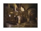 Interior of Basilica of San Nicola Di Bari, Apulia, Italy, 11th Century Giclee Print
