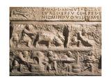 Roman Art: Sarcophagus Relief Giclee Print