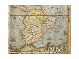 Map of Southern America from Cosmographie by Andre Thevet, 1502-1590 Giclee Print