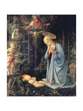 Adoration of the Child of Palazzo Medici, 1458-1460 Giclée-tryk
