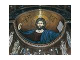 The Blessing Christ, Norman Mosaic of Apse, Cathedral Dedicated to Santa Maria Nuova, Monreale Giclee Print