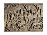 Roman Civilization, Relief Portraying Circus Maximus During the Games Giclee Print