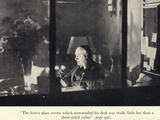 Portrait of Edgar Wallace at His Desk Photographic Print
