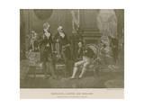 Napoleon, Goethe and Wieland Giclee Print