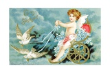 To My Sweetheart Victorian Valentine Giclee Print by David Pollack