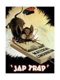 'Jap Trap', Propaganda Poster Giclee Print