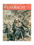 Front Cover of 'Die Wehrmacht', March 1943 Giclee Print