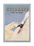 Colorado Tops the Nation, 1941 Giclee Print