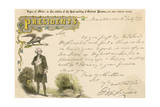 Copy of Letter Written by George Washington Giclee Print