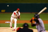 NLCS - San Francisco Giants v St Louis Cardinals - Game One Photographic Print by Dilip Vishwanat