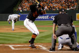 ALCS - Kansas City Royals v Baltimore Orioles - Game One Photographic Print by  Pool