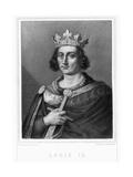 Louis IX by Vittore Pedretti Giclee Print by Stefano Bianchetti