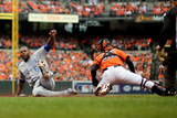 ALCS - Kansas City Royals v Baltimore Orioles - Game Two Photographic Print by Rob Carr