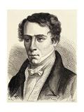 Portrait De Augustin Fresnel Giclee Print by Stefano Bianchetti