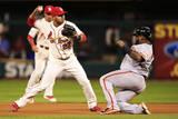 NLCS - San Francisco Giants v St Louis Cardinals - Game One Fotografisk tryk af Jamie Squire