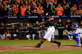 ALCS - Kansas City Royals v Baltimore Orioles - Game One Photographic Print by Rob Carr