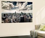 View of Manhattan, New York Reproduction murale par Steve Kelley